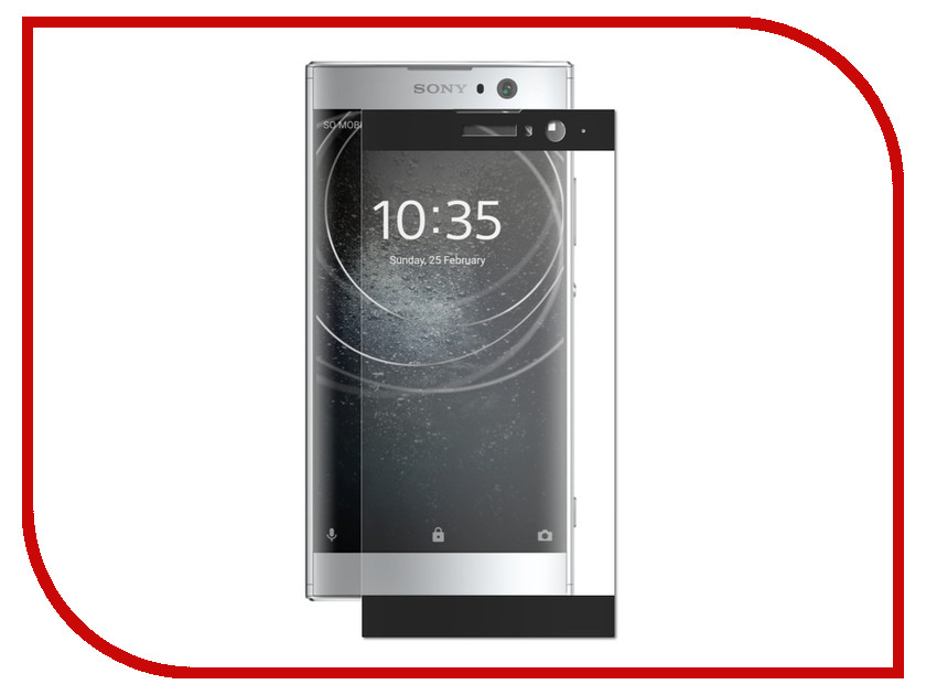 Аксессуар Защитное стекло для Sony Xperia XA2 Zibelino TG Full Screen 0.33mm 2.5D Black ZTG-FS-SON-XA2-BLK обод для велосипеда h son sl42 h son fixed gear