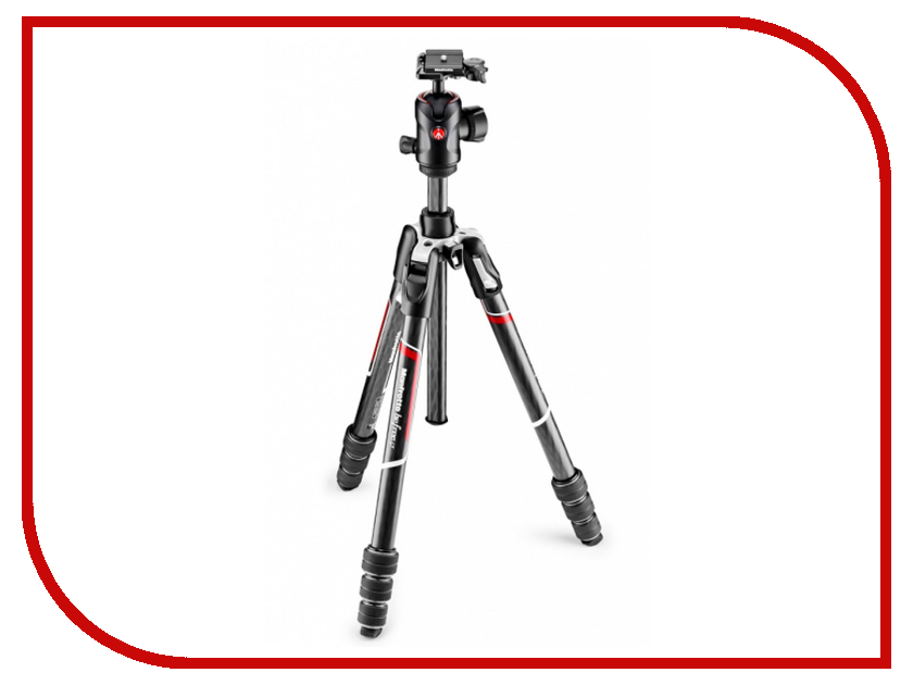 Штатив Manfrotto Befree GT MKBFRTC4GT-BH Carbon Black