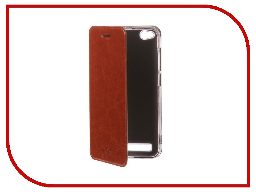 Аксессуар Чехол-книжка для Xiaomi Redmi 5A Mofi Vintage Brown 16271 цена