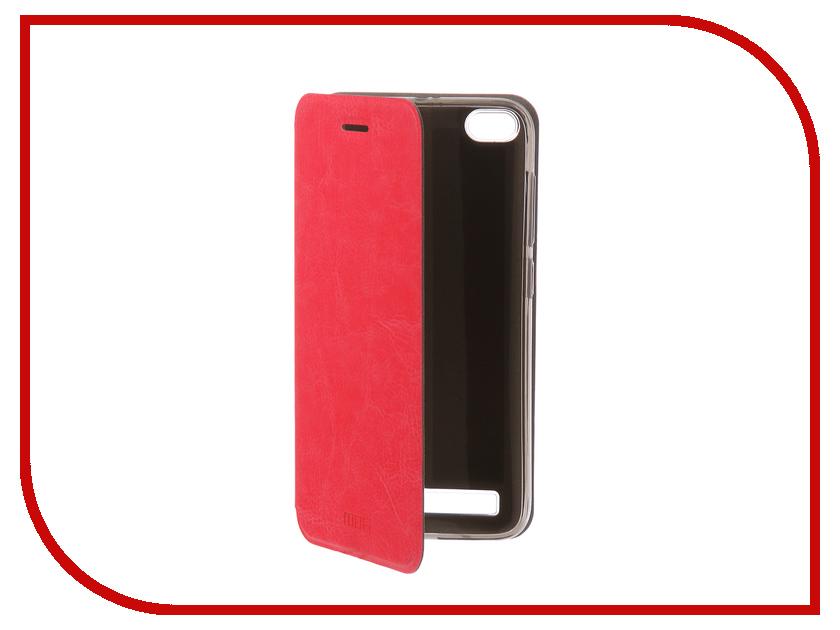 Аксессуар Чехол-книжка для Xiaomi Redmi 5A Mofi Vintage Pink 16272 цена