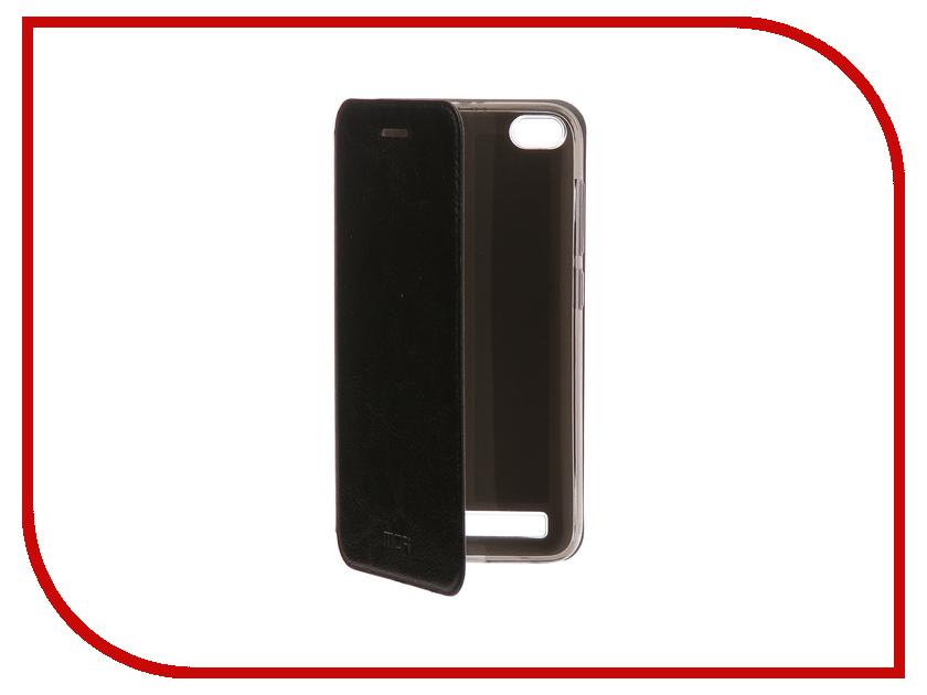 Аксессуар Чехол-книжка для Xiaomi Redmi 5A Mofi Vintage Black 16270 цена