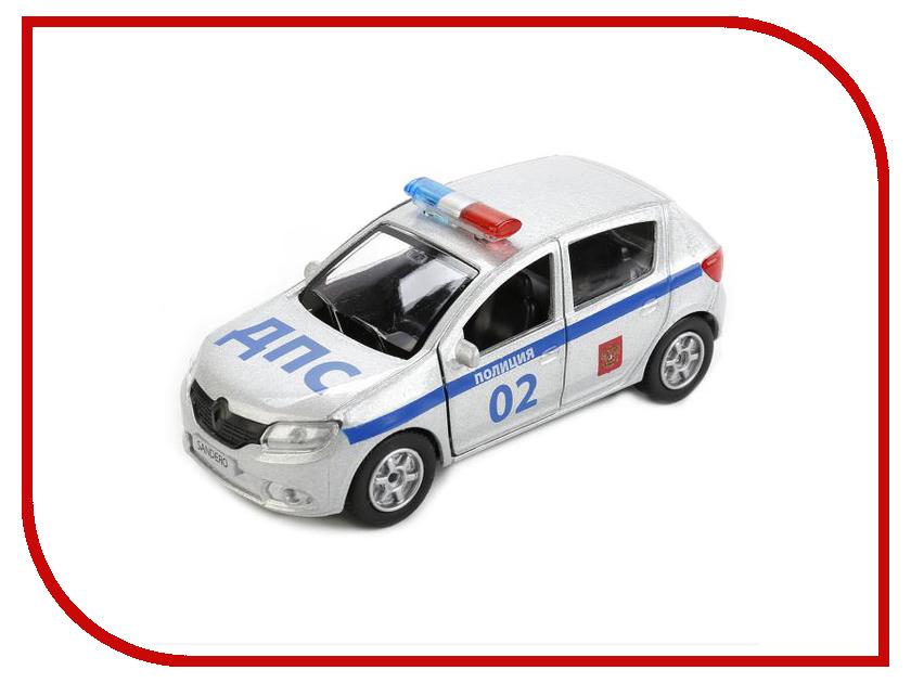 Игрушка Технопарк Renault Sandero Полиция SB-17-61-RS(P)-WB