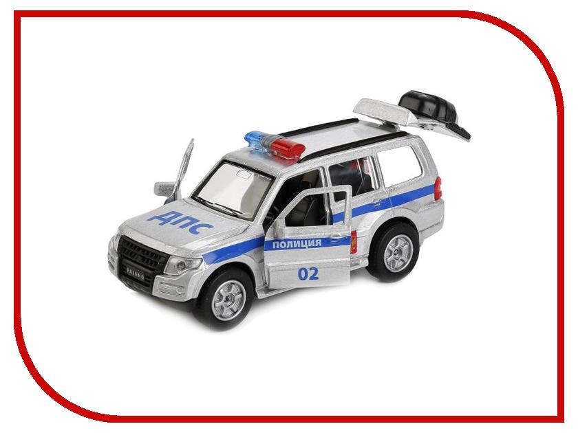 Игрушка Технопарк Mitsubishi Pajero Полиция SB-17-61-MP(P)-WB