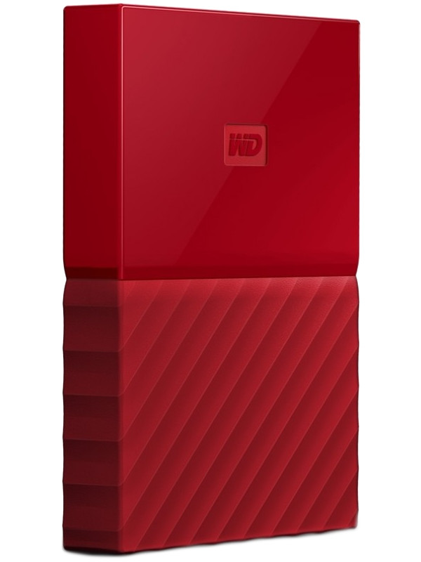 Жесткий диск Western Digital My Passport 2Tb Red WDBLHR0020BRD-EEUE
