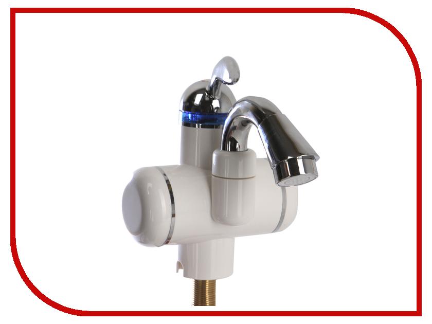 Кран мгновенного нагрева воды AquaTherm BEF-001C White кран мгновенного нагрева воды акватерм ка 001w 3000вт white