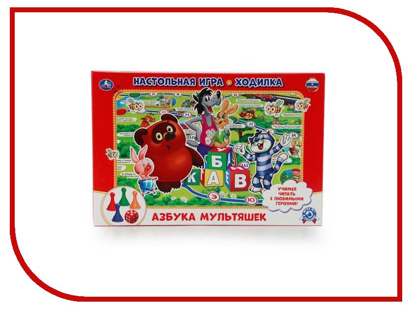 Настольная игра Умка Ходилка Азбука мультяшек 4690590102039