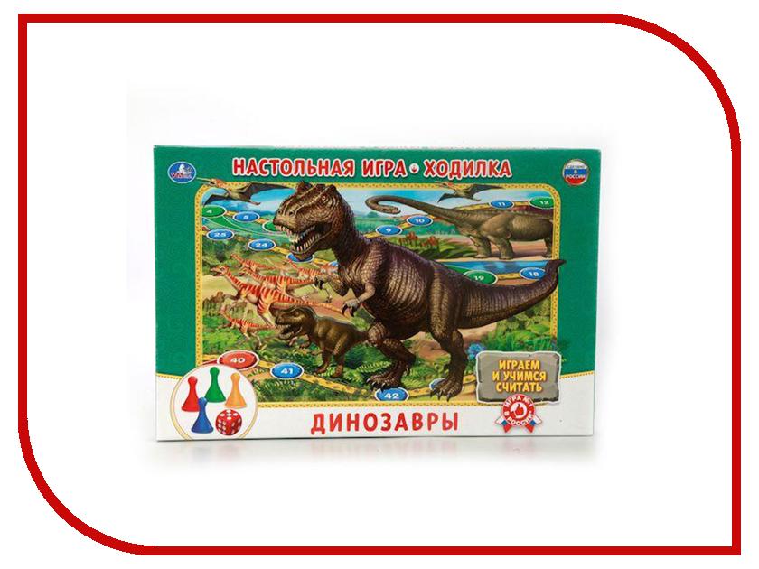 Настольная игра Умка Ходилка Динозавры 4690590106211
