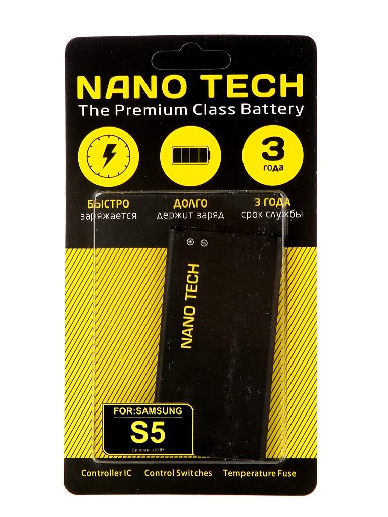 Аккумулятор Nano Tech 2600mAh для Samsung SM-G900A Galaxy S5