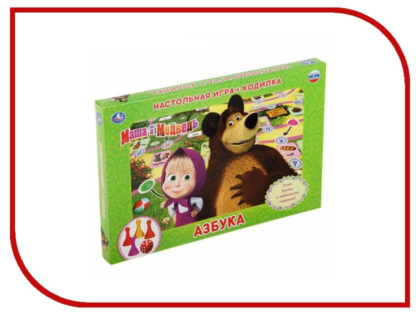 Настольная игра Умка Ходилка Маша и медведь Азбука 4690590112052