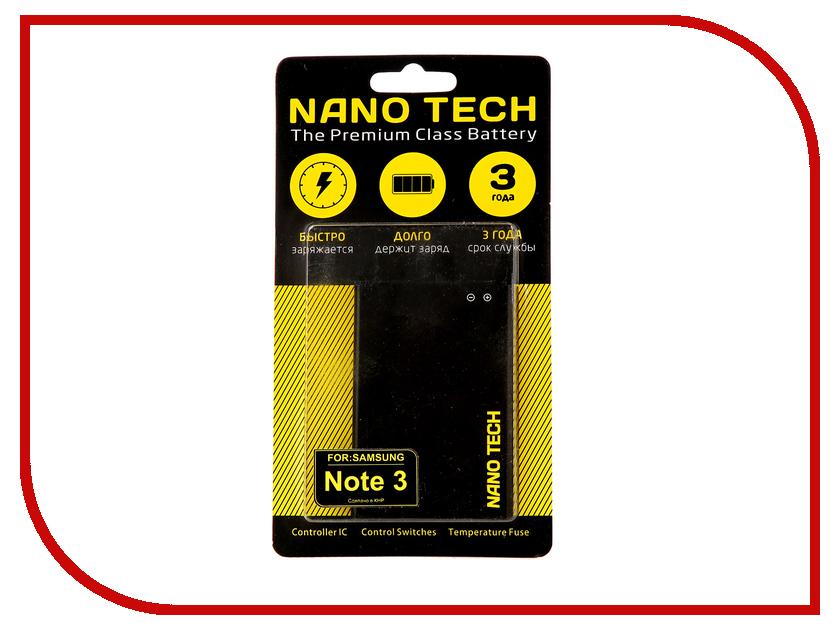 Аккумулятор Nano Tech для Samsung SM-N9000 Galaxy Note 3 EB-B800BC 3000mAh samsung eb bn910bbegru note 4