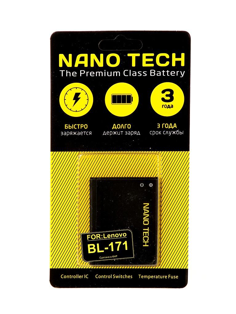 Аккумулятор Nano Tech 1500mAh для Lenovo A319/A390/A390T/A356/A368