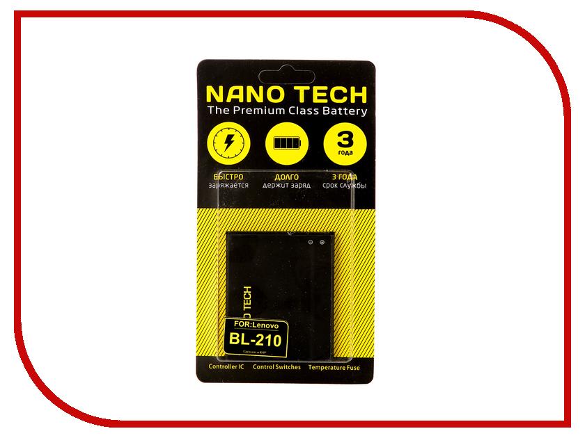 Аккумулятор Nano Tech (Аналог BL 210) 2000mAh для Lenovo S820/S650/A656/A766