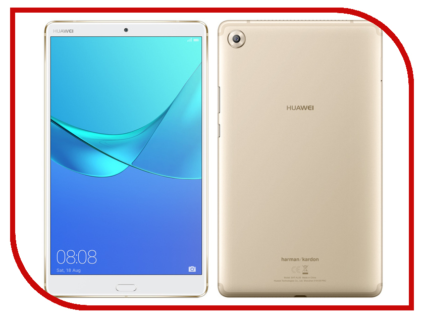 Планшет Huawei MediaPad M5 8.4 64Gb LTE Champagne Gold huawei y3 ii lte gold