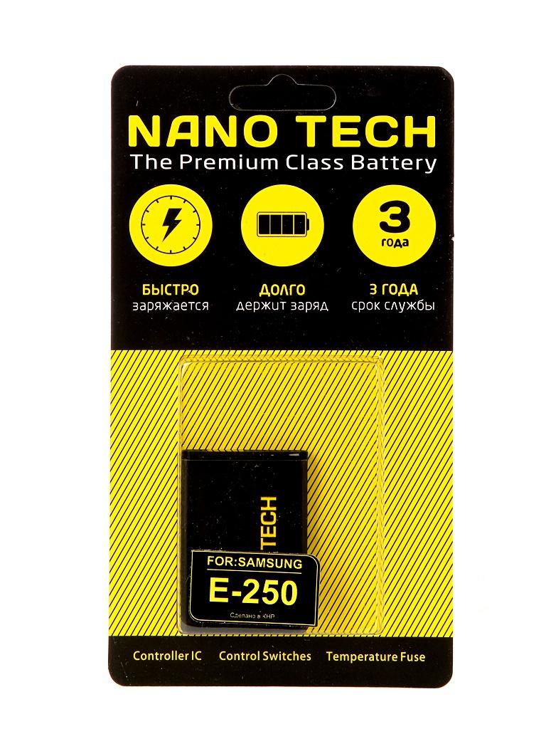 Аккумулятор Nano Tech 800mAh для Samsung E250/C120/E50/X200/X450 Bluetec