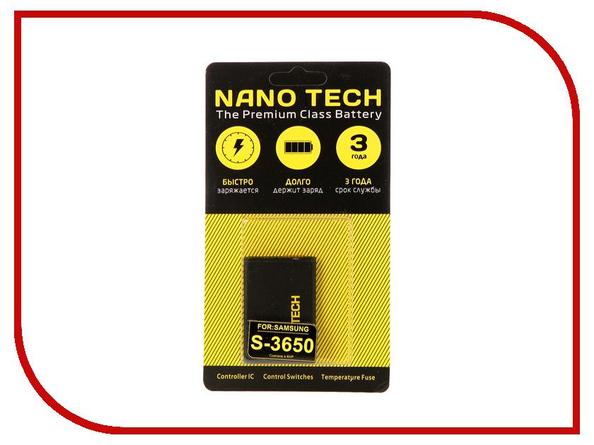 Аккумулятор Nano Tech (Аналог AB463651BU) 950mAh для Samsung S3650/S5600