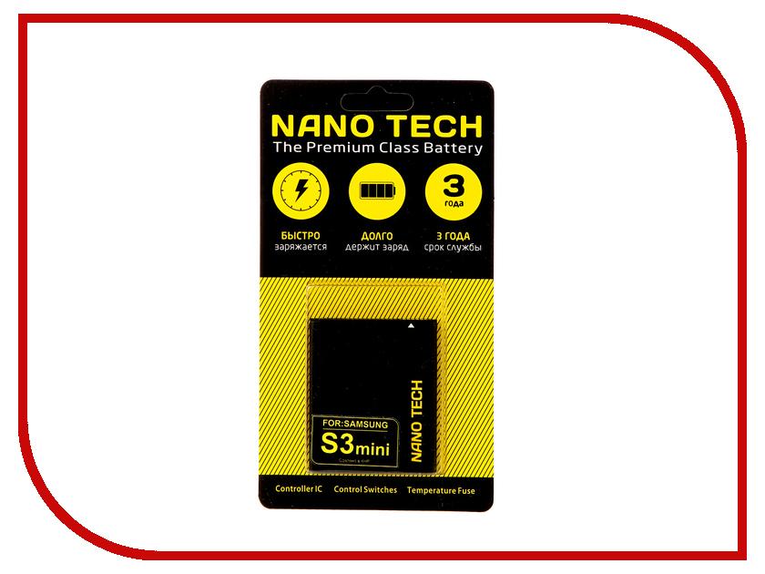 Аккумулятор Nano Tech (Аналог EB425161LU) 1500mAh для Samsung 8190/8160/Galaxy S3 mini