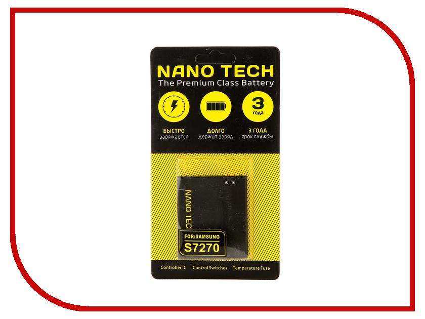 Аккумулятор Nano Tech (Аналог B100AE) 1350mAh для Samsung S7270 Galaxy Ace 3
