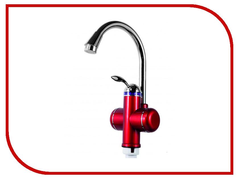 Кран мгновенного нагрева воды AquaTherm BEF-001 Red
