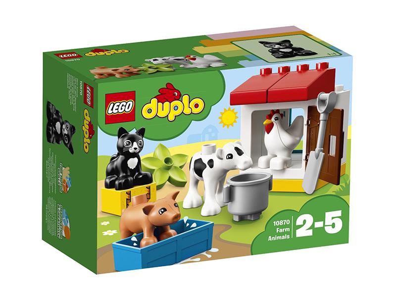Конструктор Lego Duplo Ферма: домашние животные 10870