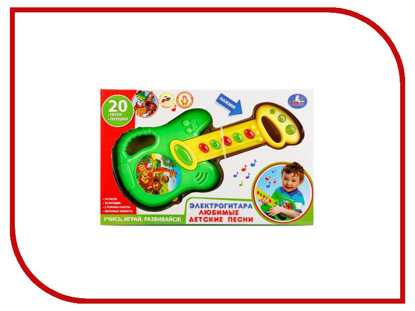 Детский музыкальный инструмент Умка Электрогитара 20 любимых детских песен B1579623-R