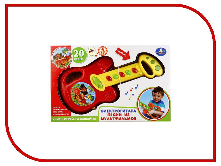 Детский музыкальный инструмент Умка Электрогитара 20 песен из мультфильмов B1579623-R1