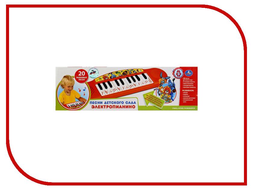 Детский музыкальный инструмент Умка Электропианино 20 любимых песен детского сада B1371790-R14