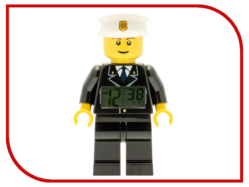 Часы Lego Полицейский 9002274 lego duplo полицейский патруль 10809
