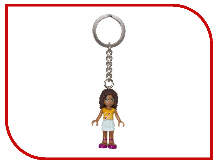Брелок Lego Friends Андреа 6139388