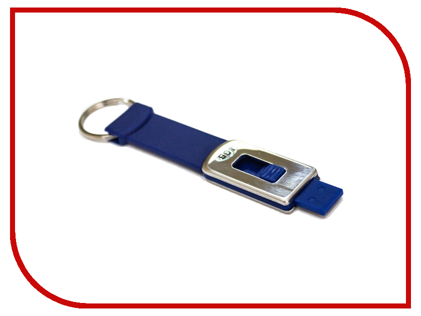 USB Flash Drive 8GB - Krutoff под нанесение логотипа Blue 00519 ourspop u017 usb 2 0 flash drive sapphire blue silver 8gb