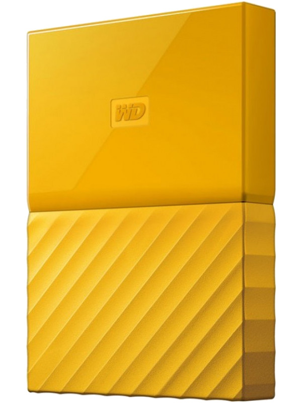 Жесткий диск Western Digital My Passport 2Tb Yellow WDBLHR0020BYL-EEUE