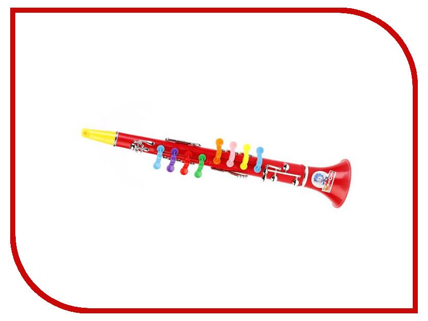 Детский музыкальный инструмент Играем вместе Кларнет Фиксики B323586-R4 играем вместе вертолет фиксики цвет оранжевый синий