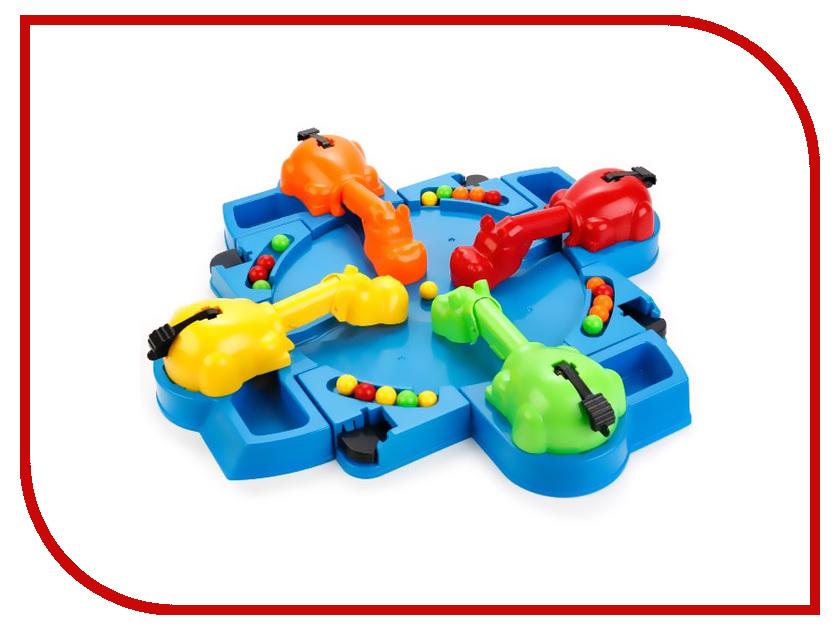 Настольная игра Играем вместе Накорми бегемотов 4 игрока B1181592-R играем вместе настольная игра бомбардир играем вместе