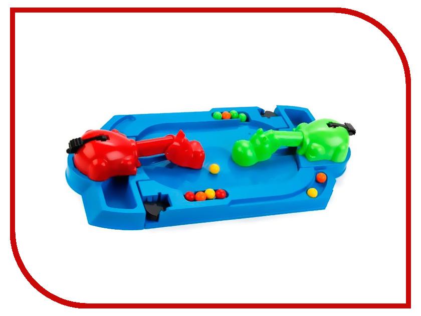 Настольная игра Играем вместе Накорми бегемотов 2 игрока B1273391-R играем вместе настольная игра бомбардир играем вместе
