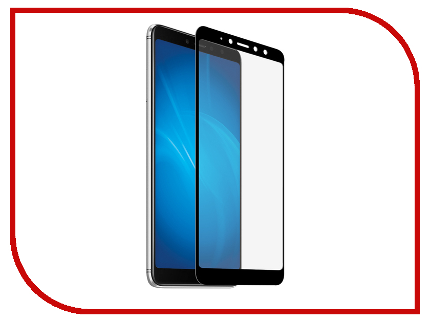Аксессуар Закаленное стекло для Xiaomi Redmi S2 DF Full Screen xiColor-32 Black аксессуар защитное стекло для xiaomi redmi s2 neypo full screen glass npg4394
