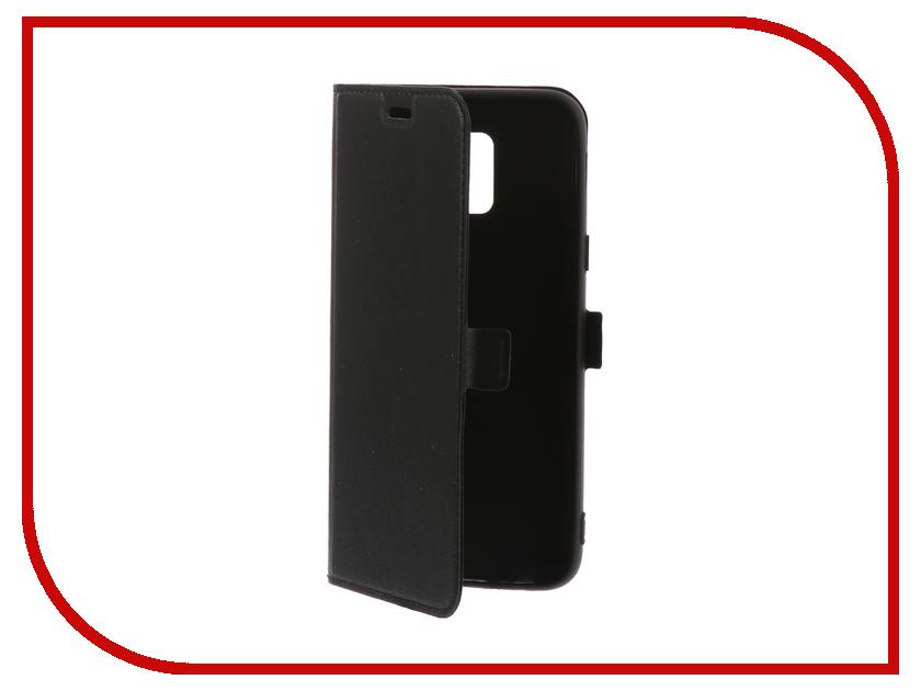 Аксессуар Чехол для Samsung Galaxy A6 2018 DF Silicone sFlip-29 цена и фото