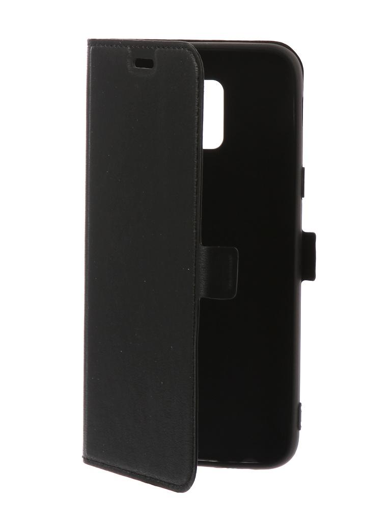 Чехол DF для Samsung Galaxy A6 2018e Silicone sFlip-29