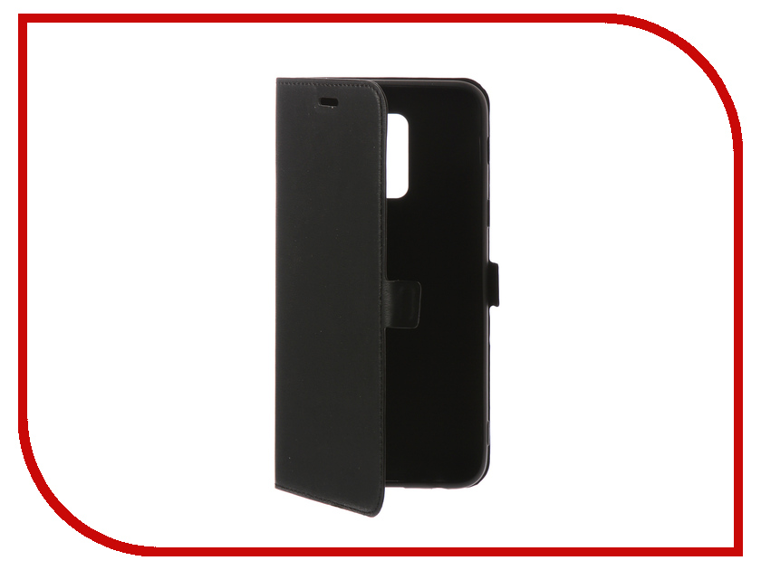 Аксессуар Чехол Samsung Galaxy A6 Plus 2018 DF Silicone sFlip-30 цена и фото