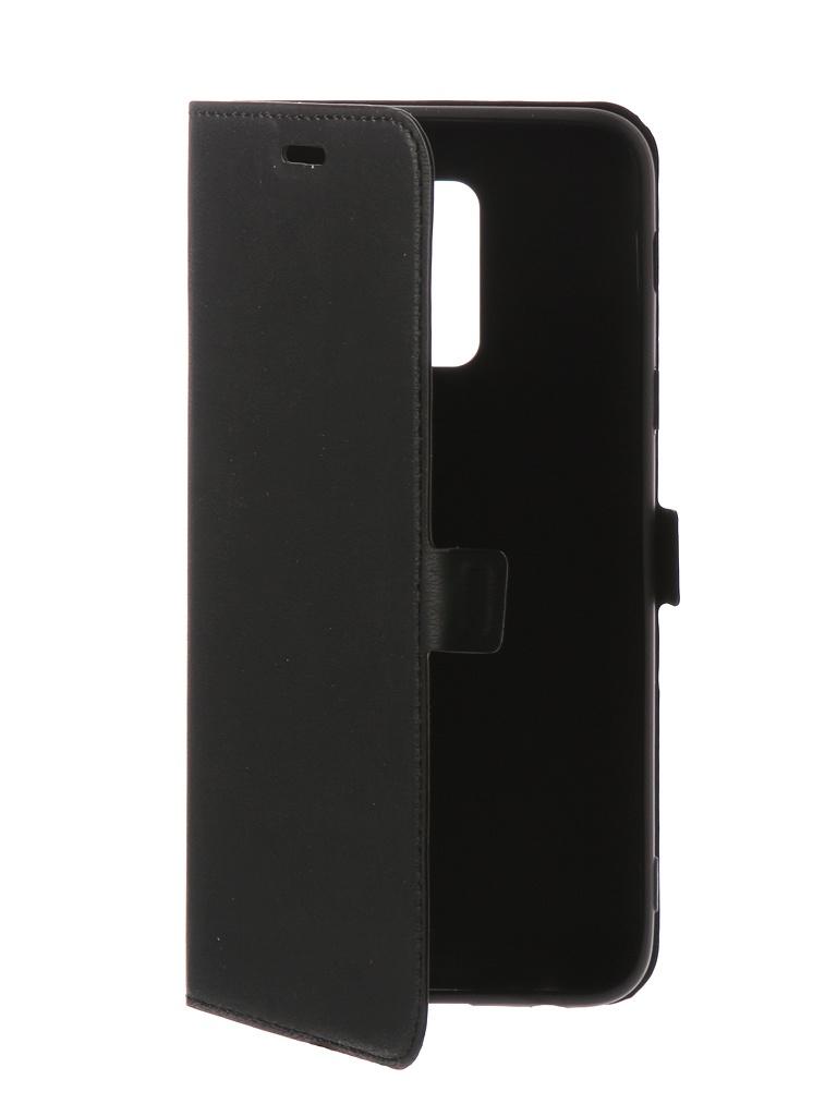 Чехол DF для Samsung Galaxy A6 Plus 2018 Silicone sFlip-30 от DF-GROUP