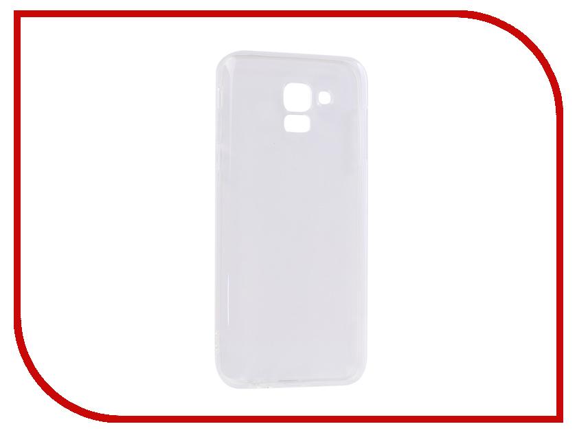Аксессуар Чехол Samsung Galaxy J6 2018 DF Silicone sCase-63 аксессуар чехол samsung g925f galaxy s6 edge df scase 19 rose gold