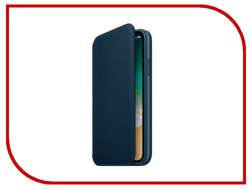 Фото - Аксессуар Чехол Apple iPhone X Krutoff Leather Folio Midnight Blue 10830 аксессуар чехол apple iphone x krutoff leather folio pink 10834