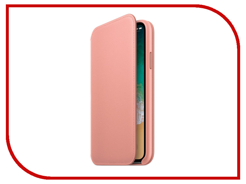 Аксессуар Чехол Apple iPhone X Krutoff Leather Folio Pink 10834 trendwoo® twins bluetooth wireless speaker support 2 0 left and right stereo sound surround with built in microphone hands free music player