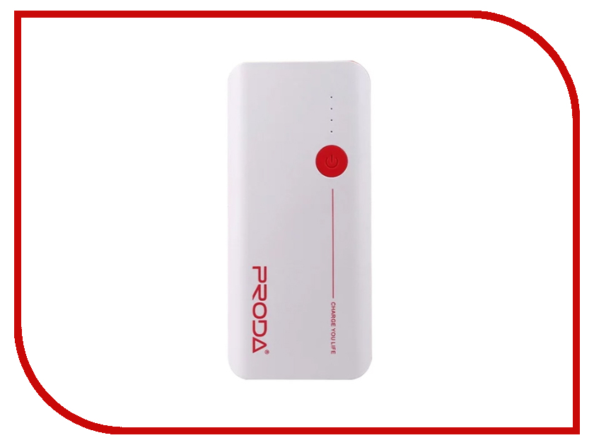 Аккумулятор Remax Proda V10 Jane 20000 mAh White-Red