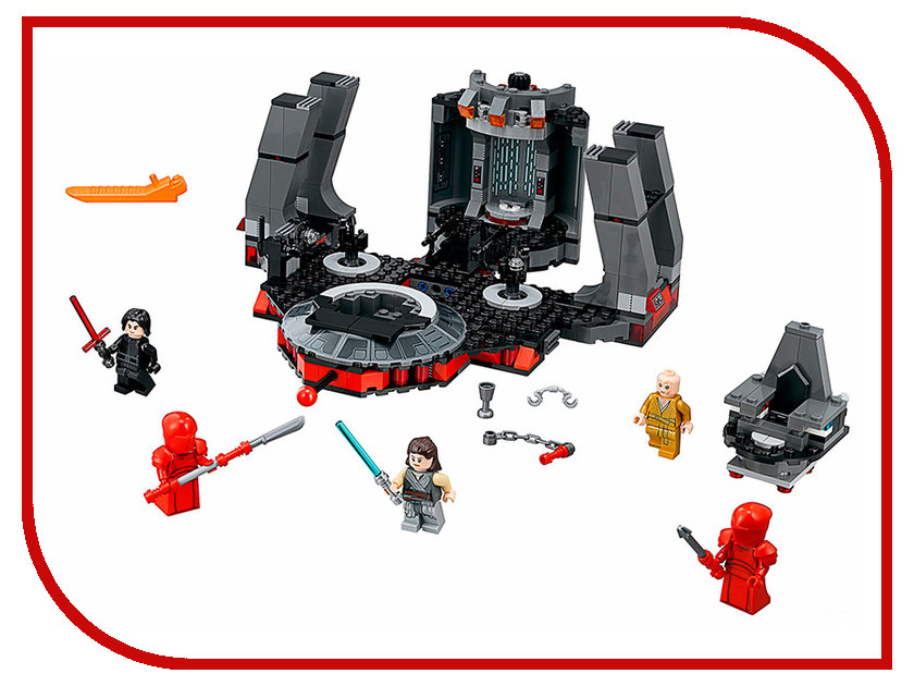 Конструктор Lego Тронный зал Сноука 75216