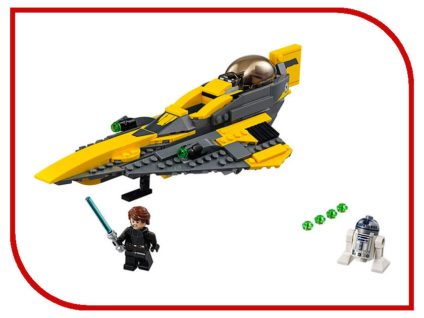 Конструктор Lego Звёздный истребитель Энакина 75214 lego star wars 75214 конструктор лего звездные войны звёздный истребитель энакина