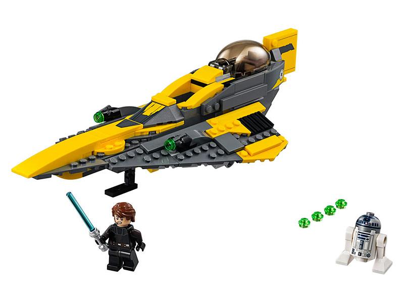 Конструктор Lego Звёздный истребитель Энакина 75214