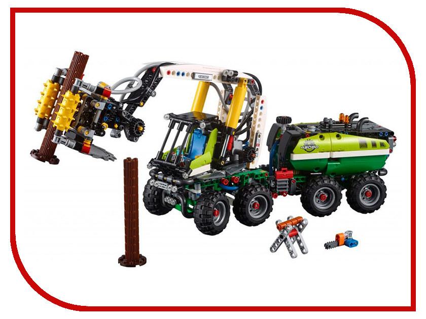 Конструктор Lego Лесозаготовительная машина 42080 конструктор lego ветеринарная машина для лошадок 41125