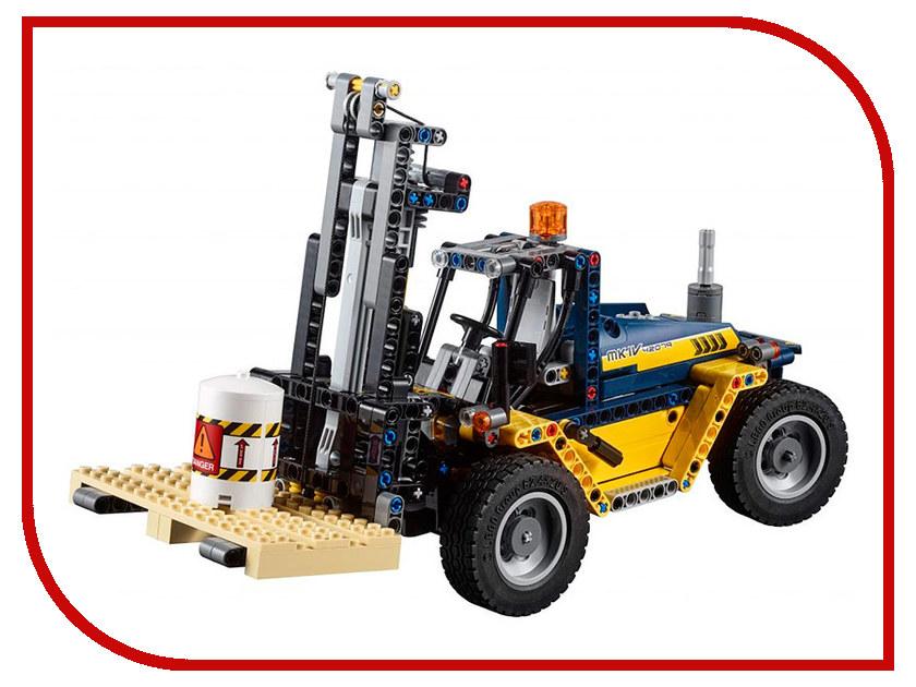 Конструктор Lego Сверхмощный вилочный погрузчик 42079 конструктор lele city сверхмощный спасательный 448 дет 02068