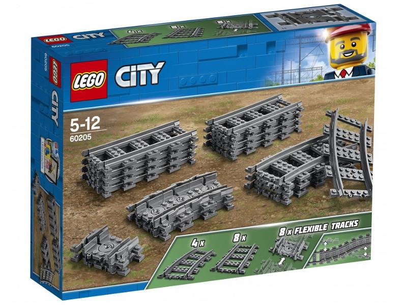 Фото - Конструктор Lego Рельсы 60205 alfa 60205