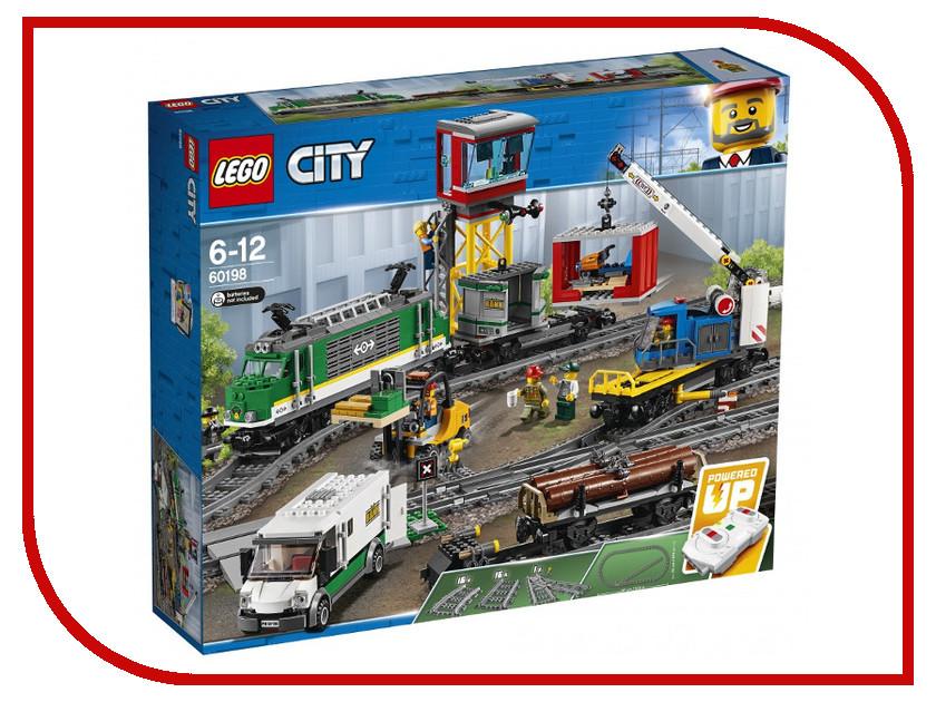 Конструктор Lego Товарный поезд 60198 lego 70735 король ронина