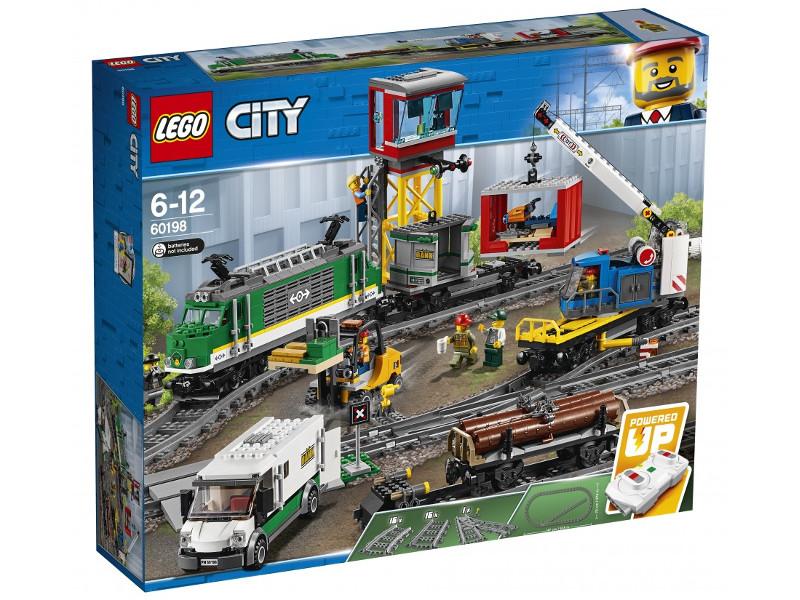 Конструктор Lego Товарный поезд 60198 конструктор товарный поезд